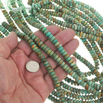Turquoise Rondelle Beads 30821