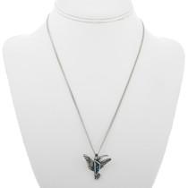 Silver Pueblo Hummingbird Pendant 30910