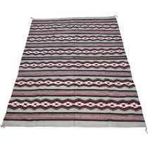 Authentic Navajo Made Wool Rug Room Size 30923