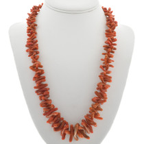 Mediterranean Coral Necklace 30930