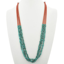 Turquoise Nugget Necklace 30944