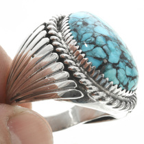 Navajo Made Sterling Silver Ring 30945