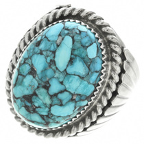 Turquoise Silver Ring 30945