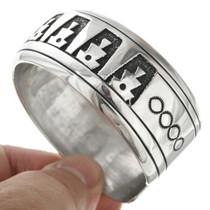 Navajo Made Silver Bracelet 30947