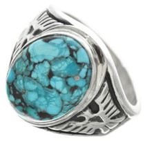 Navajo Turquoise Ring 30952