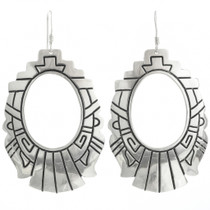 Native American Silver Earrings 30955