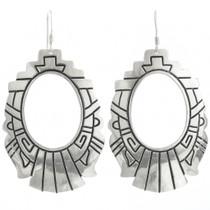 Native American Silver Earrings 30955
