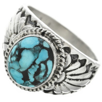 Turquoise Silver Ring 30956