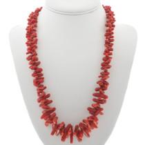 Red Coral Navajo Necklace 30959