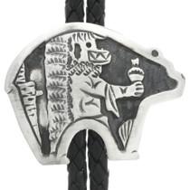 Silver Bear Bolo Tie 30982