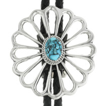 Turquoise Old Pawn Style Bolo Tie 30986