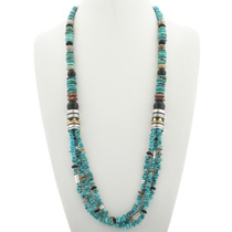 Native American Turquoise Necklace 30995
