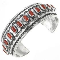 Native American Coral Bracelet 30997