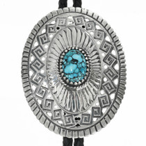 Mens Western Turquoise Bolo Tie 31016