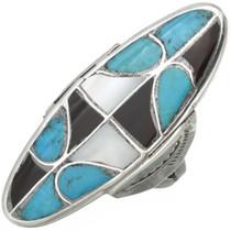 Vintage Turquoise Zuni Ring 31034