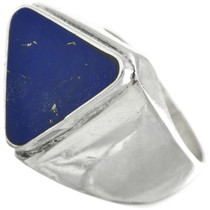 Vintage Lapis Silver Ring 31037