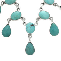 Turquoise Drop Necklace 31046