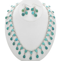 Vintage Turquoise Necklace 31046