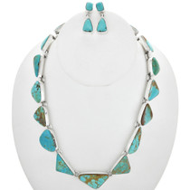 Vintage Native American Turquoise Necklace 31048