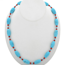 Turquoise Bead Necklace 31102