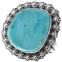 Native American Turquoise Ring 31113