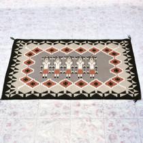 Vintage Navajo Wool Rug 31116