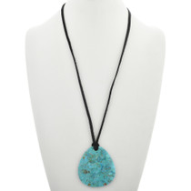 Large All Turquoise Pendant 31123