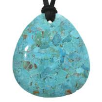Turquoise Slab Pendant 31123