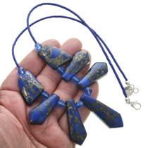 Navajo Crystal Bead Necklace 31130