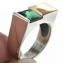 Natural Green Tourmaline Ring 31140