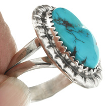 Navajo Turquoise Ring 31144