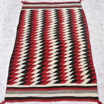 Vintage Navajo Homespun Rug 31149