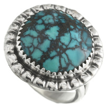 Blue Diamond Turquoise Ring 31154