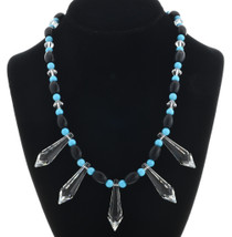 Beaded Swarovski Crystal Necklace 31157