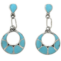 Turquoise Inlay Earrings 31164