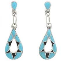 Zuni Turquoise Earrings 31166