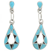 Zuni Turquoise Earrings 31166
