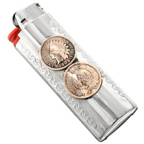 Indian Head Penny Lighter Case 31168