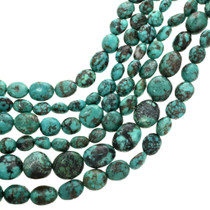 Blue Green Turquoise Beads 30825