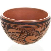 Vintage Hopi Tewa Pottery Bowl 31185