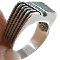 Navajo Bear Paw Turquoise Ring 31206