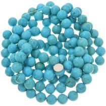 Kingman Blue Genuine Magnesite Stone Beads 30835