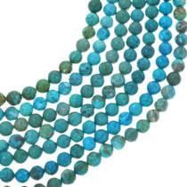 Round Turquoise Magnesite Beads 30840