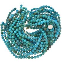 Blue Green Turquoise Magnesite Bead Strand 30840