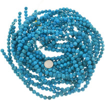 Lone Mountain Blue Turquoise Magnesite Beads 30846