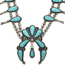 Zuni Inlaid Turquoise Necklace 31220
