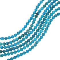 Ithaca Peak Blue Turquoise Magnesite Bead Strands 30850