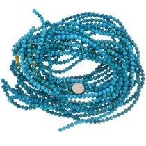 Round 6mm Turquoise Magnesite Beads 30850