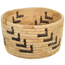 Vintage Papago Indian Basket 31222