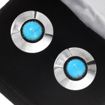 Native American Turquoise Cuff Links 31226